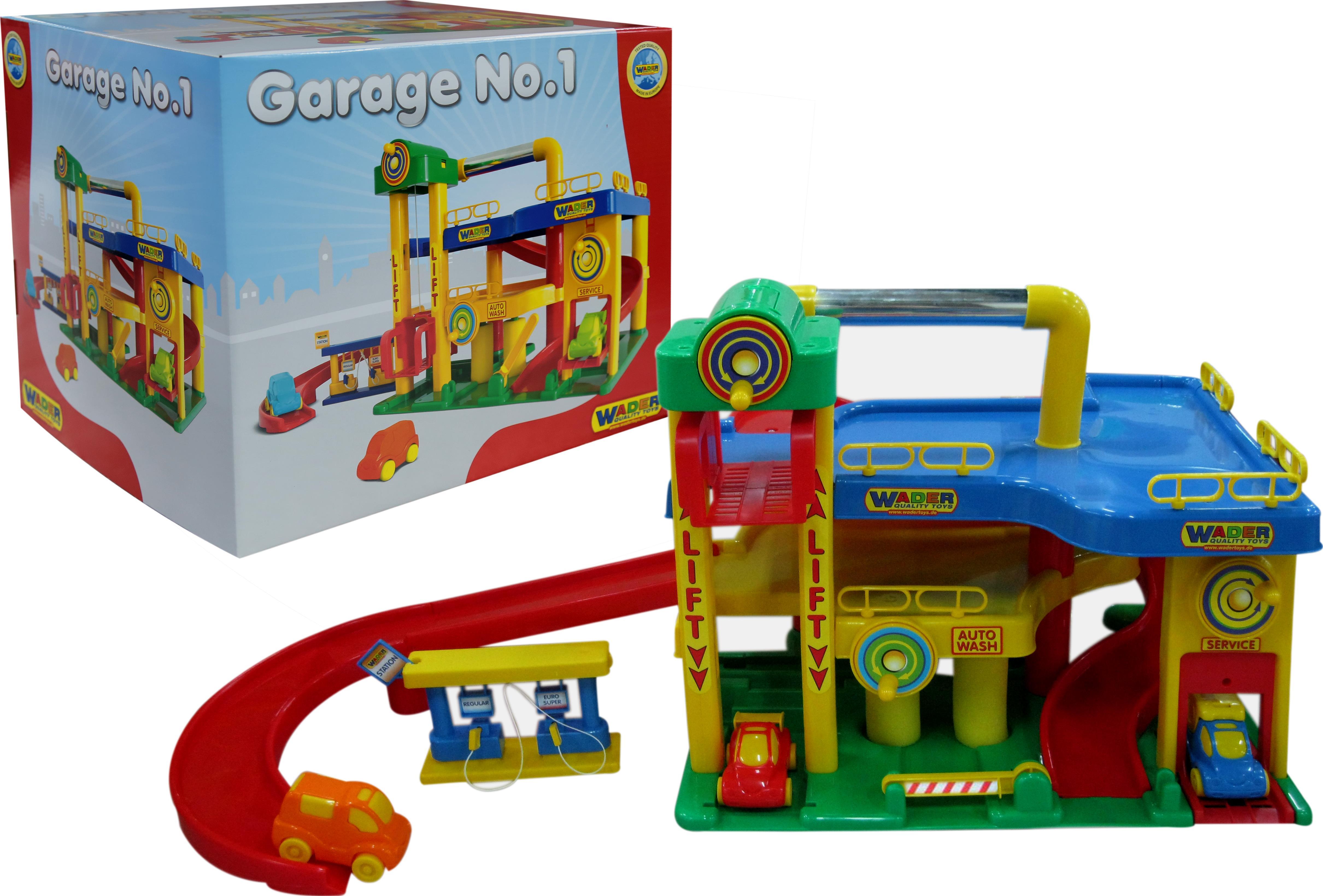 Гараж №1 с автомобилями, в коробкеДетские парковки и гаражи<br>Гараж №1 с автомобилями, в коробке<br>
