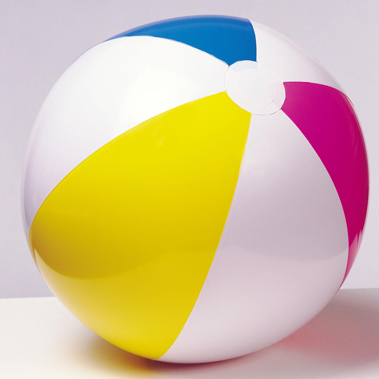 Мяч надувной Gloossy Panel BallНадувные животные, круги и матрацы<br>Мяч надувной Gloossy Panel Ball<br>