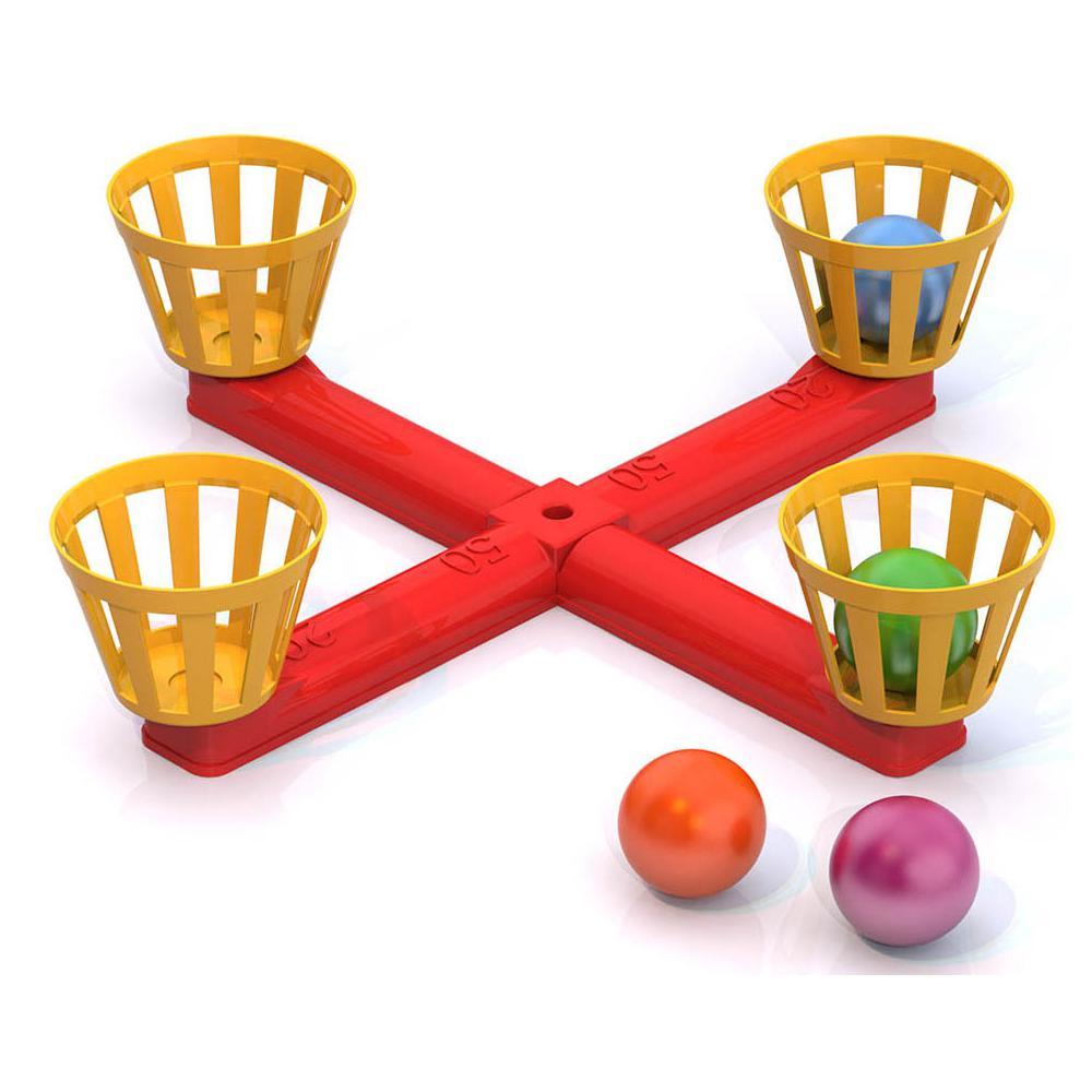 Игра напольная - Веселый баскетболБаскетбол, бадминтон, теннис<br>Игра напольная - Веселый баскетбол<br>