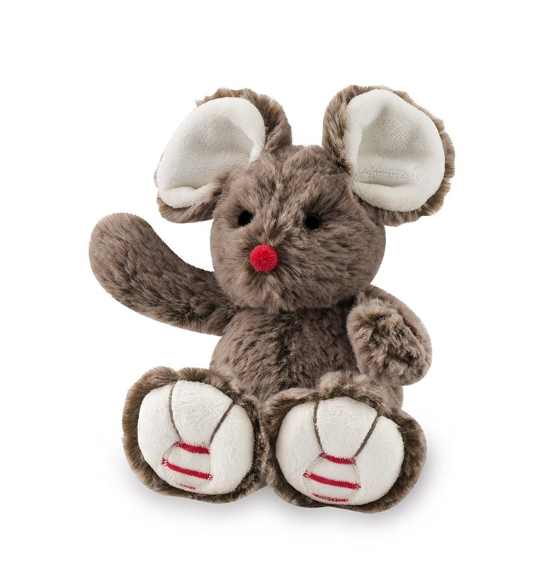Купить Мягкая игрушка Руж – Мышка. Шоколад, 19 см, Kaloo