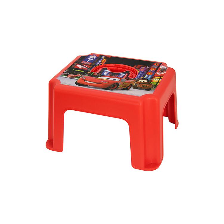 Табурет-подставка Disney - Тачки, красныйЗащита<br>Табурет-подставка Disney - Тачки, красный<br>