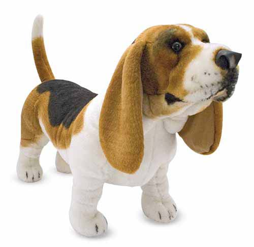Мягкая игрушка  Бассет-Хаунд  - Собаки, артикул: 138675