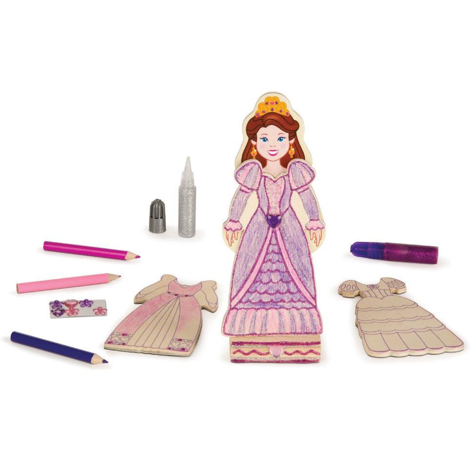 Melissa&Doug Набор для творчества – платья Принцессы из серии Магнитные игры