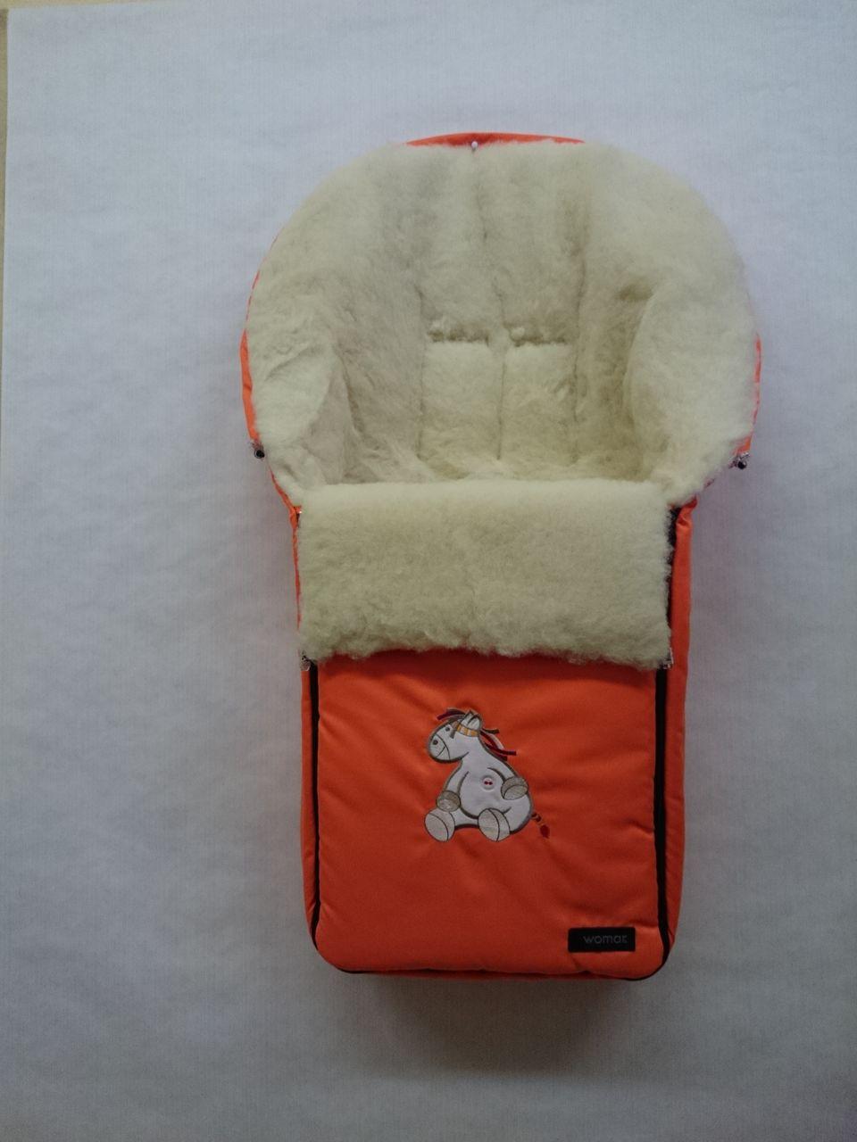 Спальный мешок в коляску №06 - Aurora, оранжевыйЗимние конверты<br>Спальный мешок в коляску №06 - Aurora, оранжевый<br>