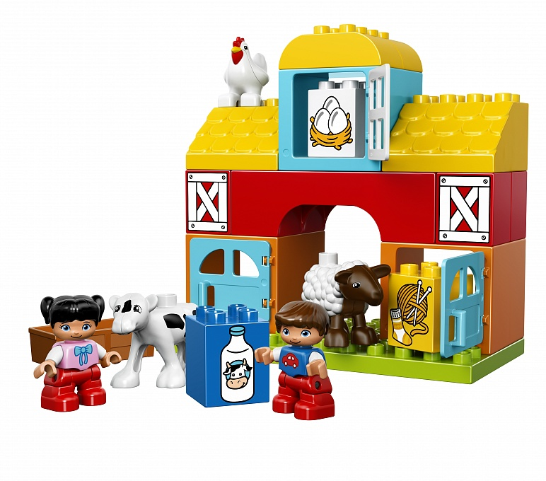 Lego Duplo. Моя первая ферма - Конструкторы LEGO, артикул: 114441