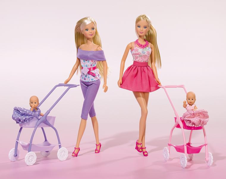 Кукла Штеффи с ребёнком