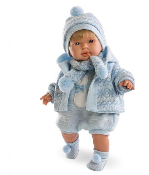 Кукла Мигуэль 42 см, озвученнаяИспанские куклы Llorens Juan, S.L.<br>Кукла Мигуэль 42 см, озвученная<br>