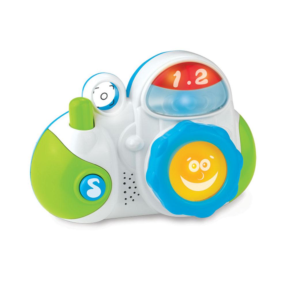 Музыкальная игрушка - Мой первый фотоаппарат, звукИнтерактив для малышей<br>Музыкальная игрушка - Мой первый фотоаппарат, звук<br>