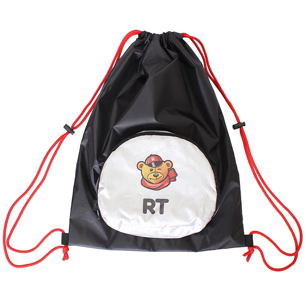 Мешок-рюкзак складной RT, на самокат и велосипед Собака фото