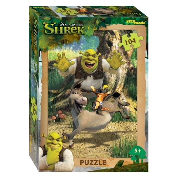 Пазл Shrek, 104 детали фото