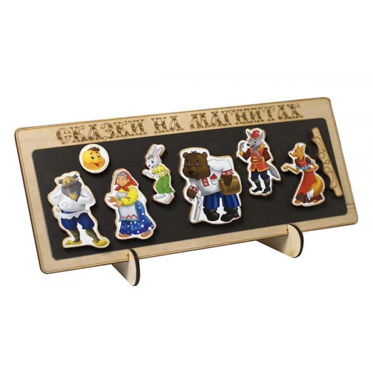 Сказки на магнитах – КолобокДетский кукольный театр <br>Сказки на магнитах – Колобок<br>