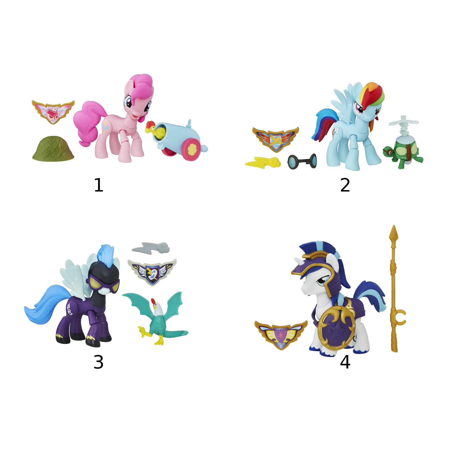 Фигурка My Little Pony - Хранители Гармонии с артикуляциейМоя маленькая пони (My Little Pony)<br>Фигурка My Little Pony - Хранители Гармонии с артикуляцией<br>