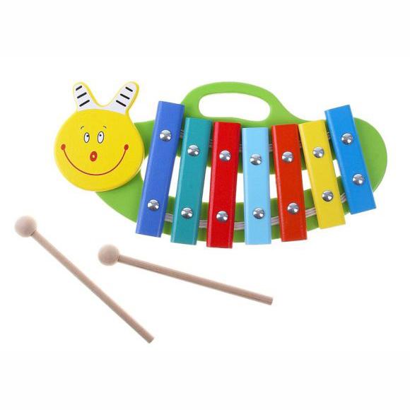 Ксилофон – Улитка. 7 нот, окрашенныйКсилофоны<br>Ксилофон – Улитка. 7 нот, окрашенный<br>