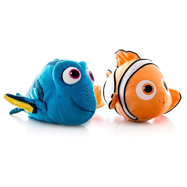 Плюшевый подводный обитатель 15 см. из серии «В поисках Дори», озвученныйГоворящие игрушки<br>Плюшевый подводный обитатель 15 см. из серии «В поисках Дори», озвученный<br>