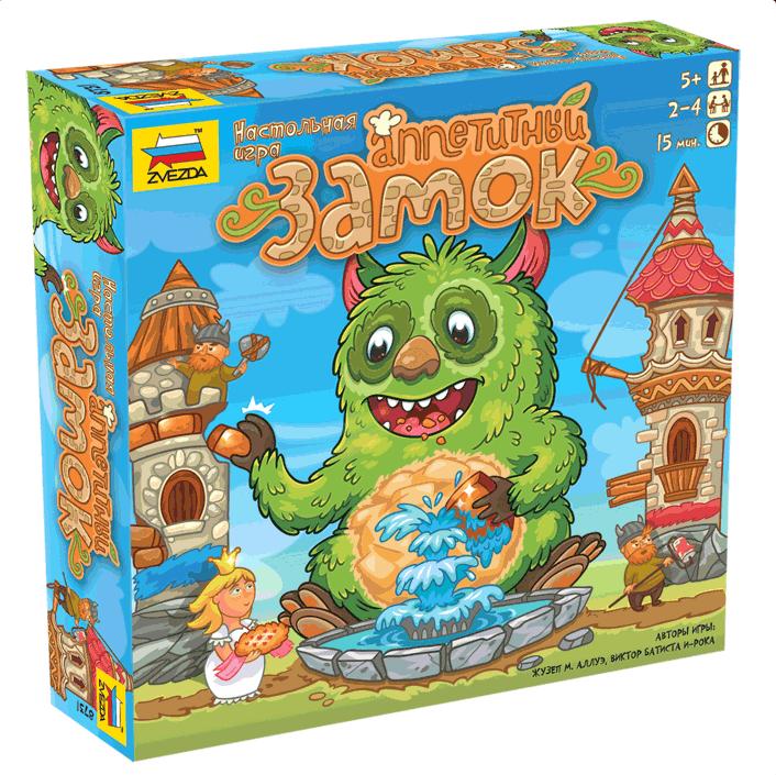 Игра настольная «Аппетитный замок»Логические<br>Игра настольная «Аппетитный замок»<br>