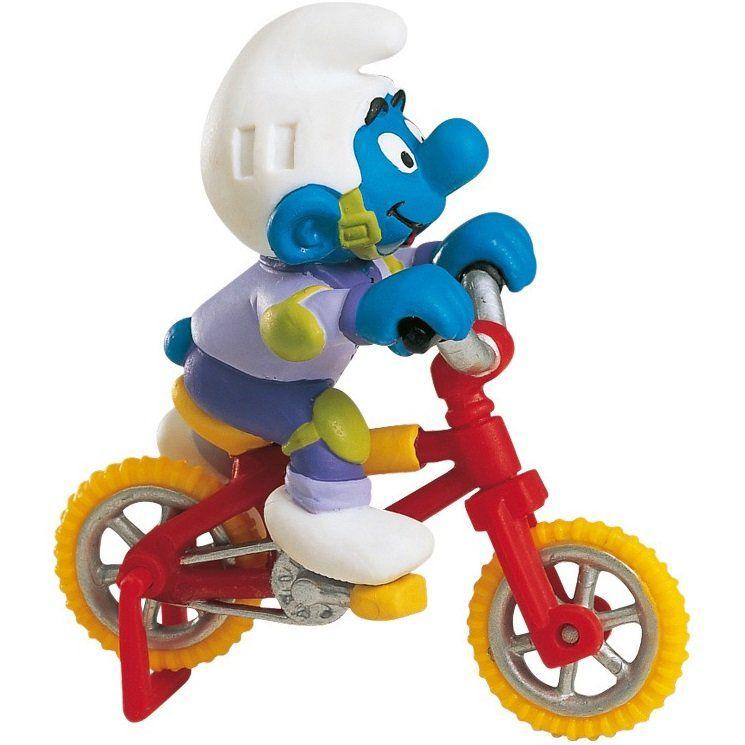 Игровая фигурка – Гномик на велосипеде