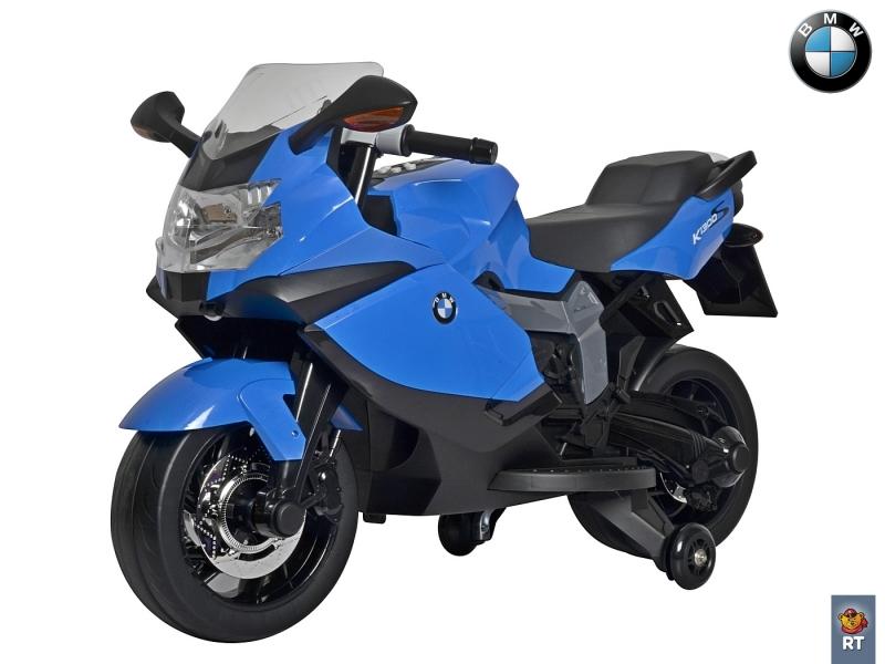 Электромотоцикл BMW RT 6V, синий от Toyway