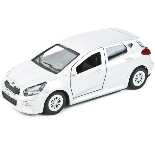 Купить со скидкой Машинка металлическая инерционная Kia Ceed 12 см., открываются двери