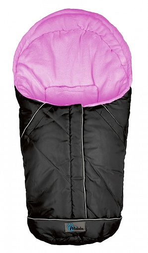 Зимний конверт Nordic Pram &amp; Car seat, black/roseЗимние конверты<br>Зимний конверт Nordic Pram &amp; Car seat, black/rose<br>