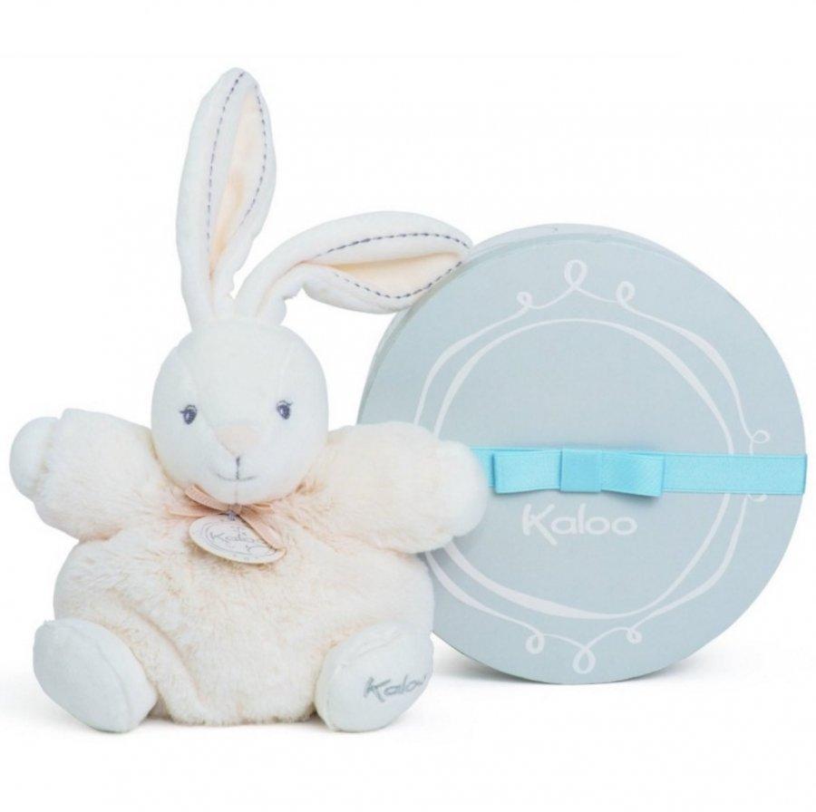 Купить Мягкая игрушка Жемчуг - Заяц, кремовый, маленький, Kaloo