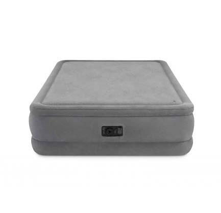 Купить Надувной матрас-кровать со встроенным насосом, серия Dura-Beam, 152 х 203 х 51 см, двуспальный, Intex