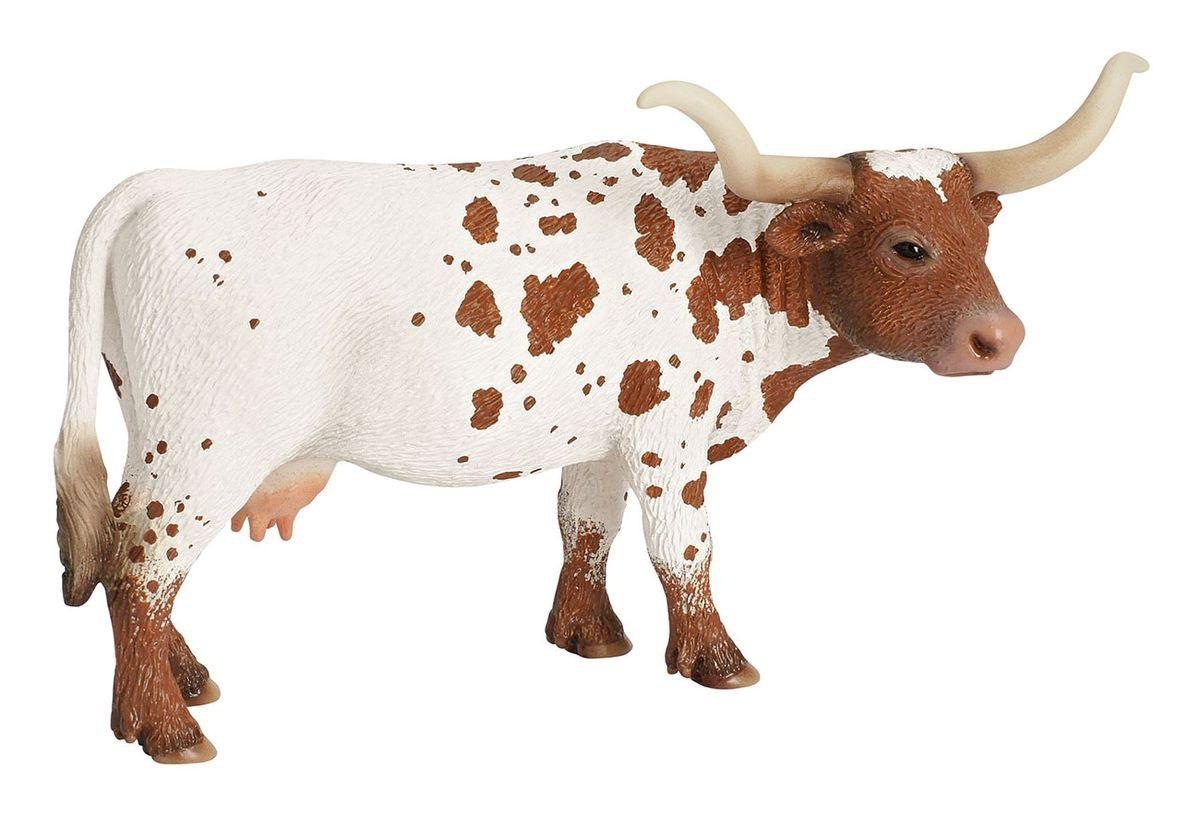 Купить Игровая фигурка - Корова породы Техасский Лонгхорн, 14, 5 см, Schleich