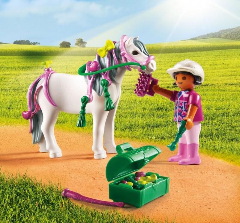 Игровой набор Ферма Пони: Конюх с пони СердечкоФерма<br>Игровой набор Ферма Пони: Конюх с пони Сердечко<br>