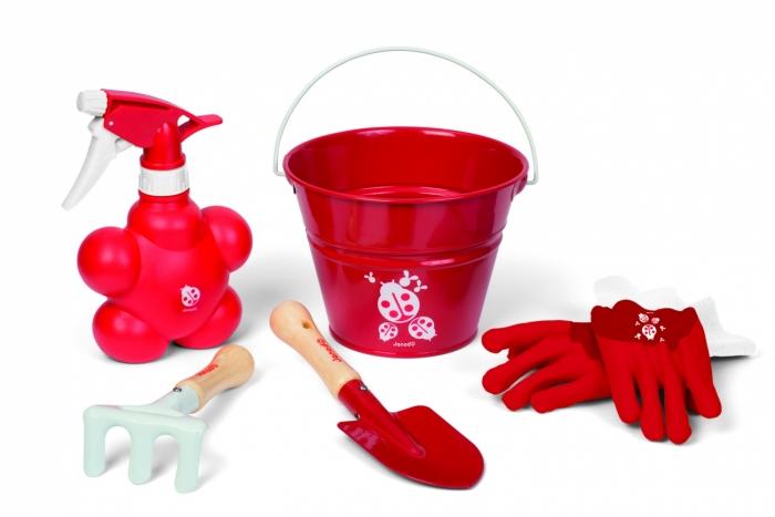 Набор  Маленький садовник, красный - Юный садовод, артикул: 160401