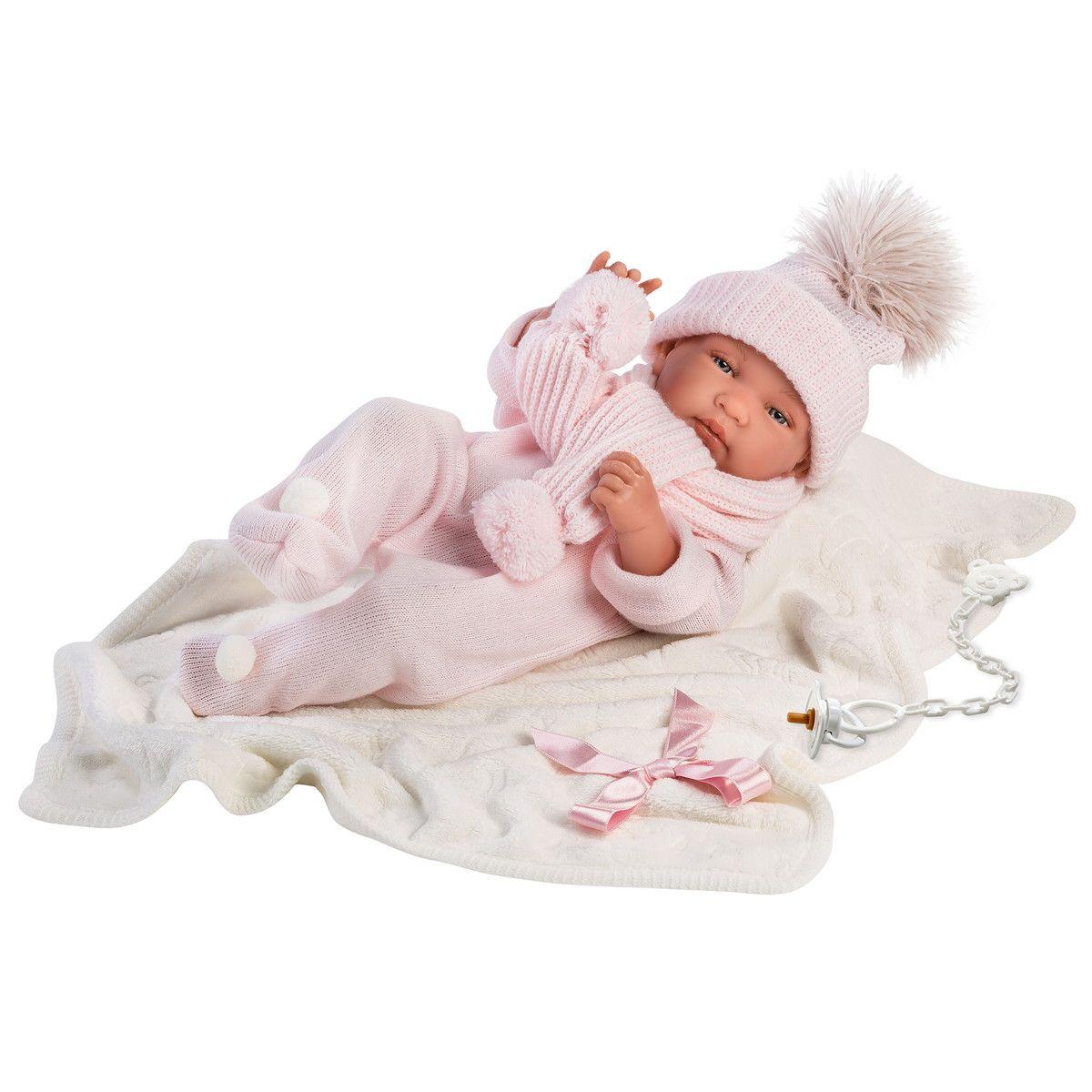 Купить Кукла младенец Тина, 43 см, Llorens Juan
