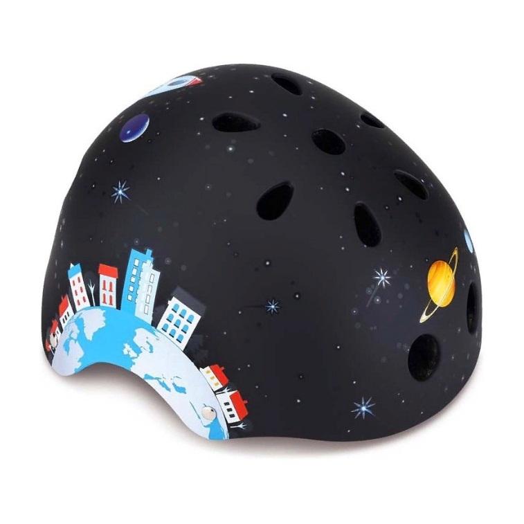 Купить Шлем Globber - Printed Junior XXS/XS, 48-51 см, черный