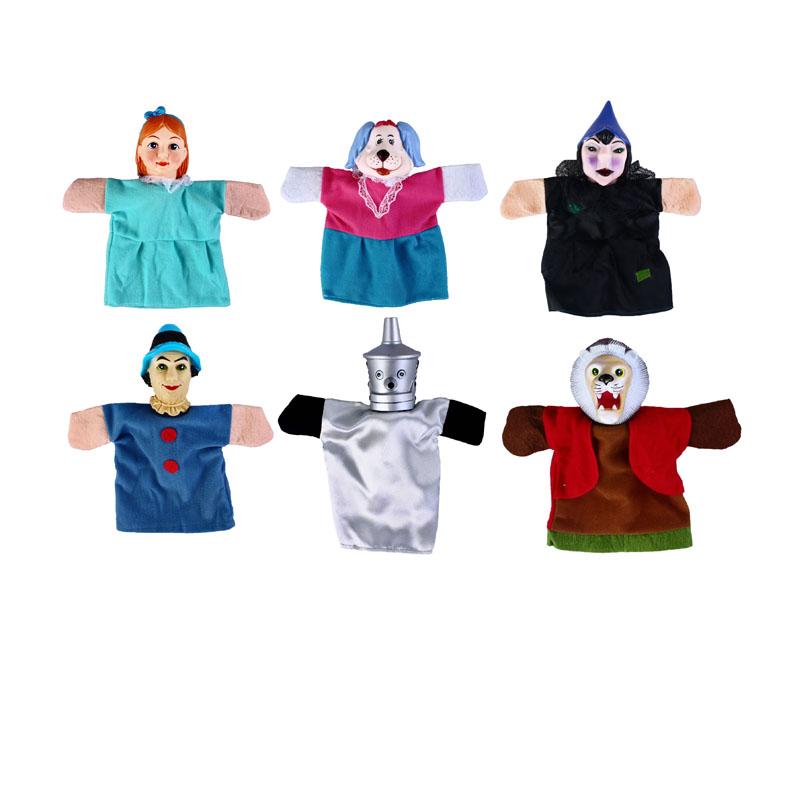 Кукольный театр – Волшебник изумрудного города, 6 куколДетский кукольный театр <br>Кукольный театр – Волшебник изумрудного города, 6 кукол<br>