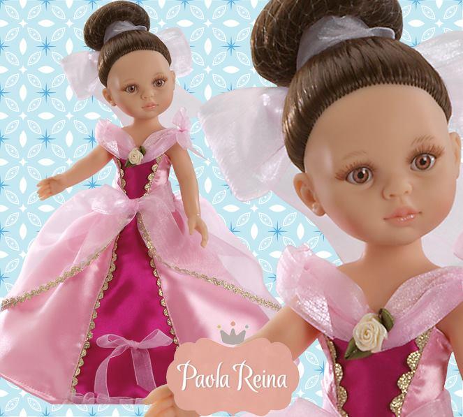 Кукла принцесса Кэрол, 32 см.Испанские куклы Paola Reina (Паола Рейна)<br>Кукла принцесса Кэрол, 32 см.<br>