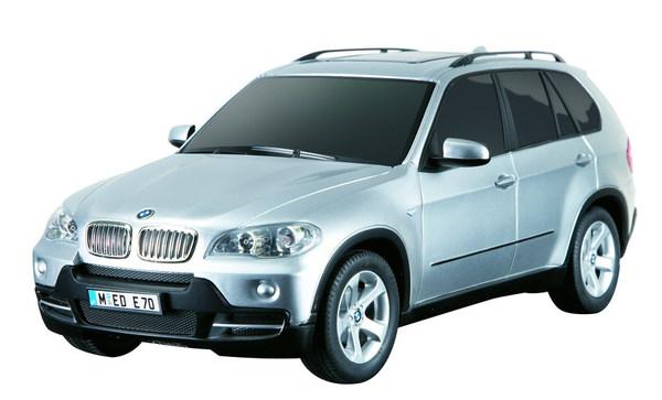 картинка Машина на радиоуправлении 1:18 BMW X5 40MHZ, цвет серебряный от магазина Bebikam.ru