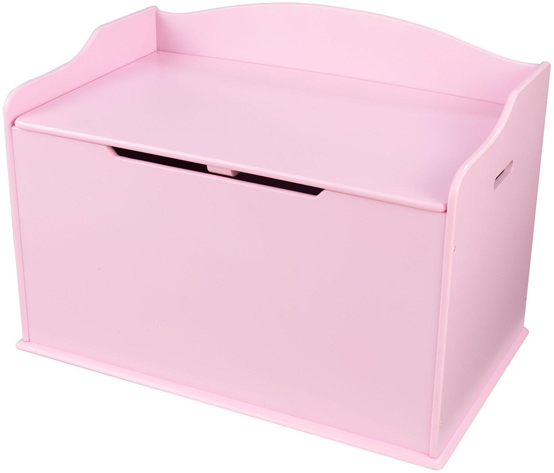Купить Ящик для хранения Austin Toy Box Pink, розовый, KidKraft