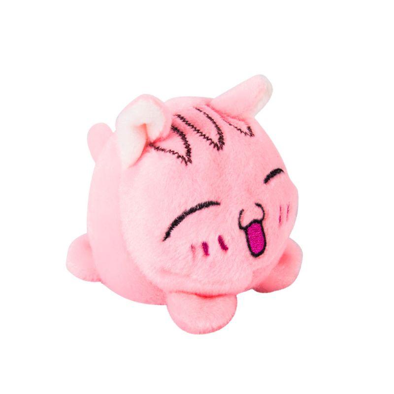 Купить Мячик мягкий - Кот розовый, 7 см., Button Blue