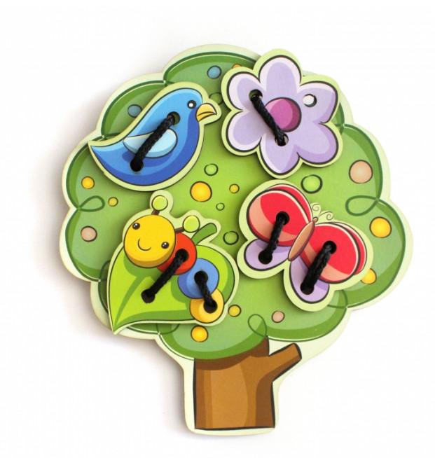 Купить Шнуровка деревянная – Дерево, Тимбергрупп