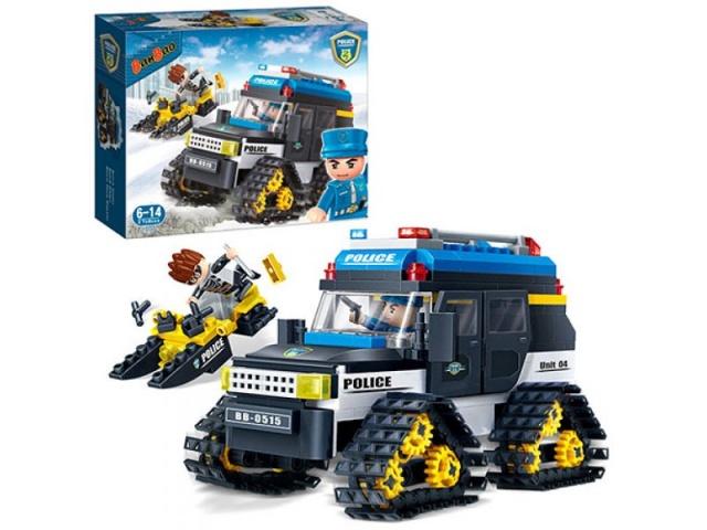Конструктор - Полицейский вездеход, 315 деталейКонструкторы BANBAO<br>Конструктор - Полицейский вездеход, 315 деталей<br>