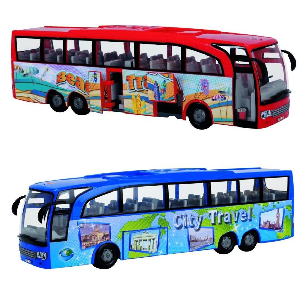 Туристический автобус фрикционный, 1:43, 2 видаАвтобусы, трамваи<br>Туристический автобус фрикционный, 1:43, 2 вида<br>