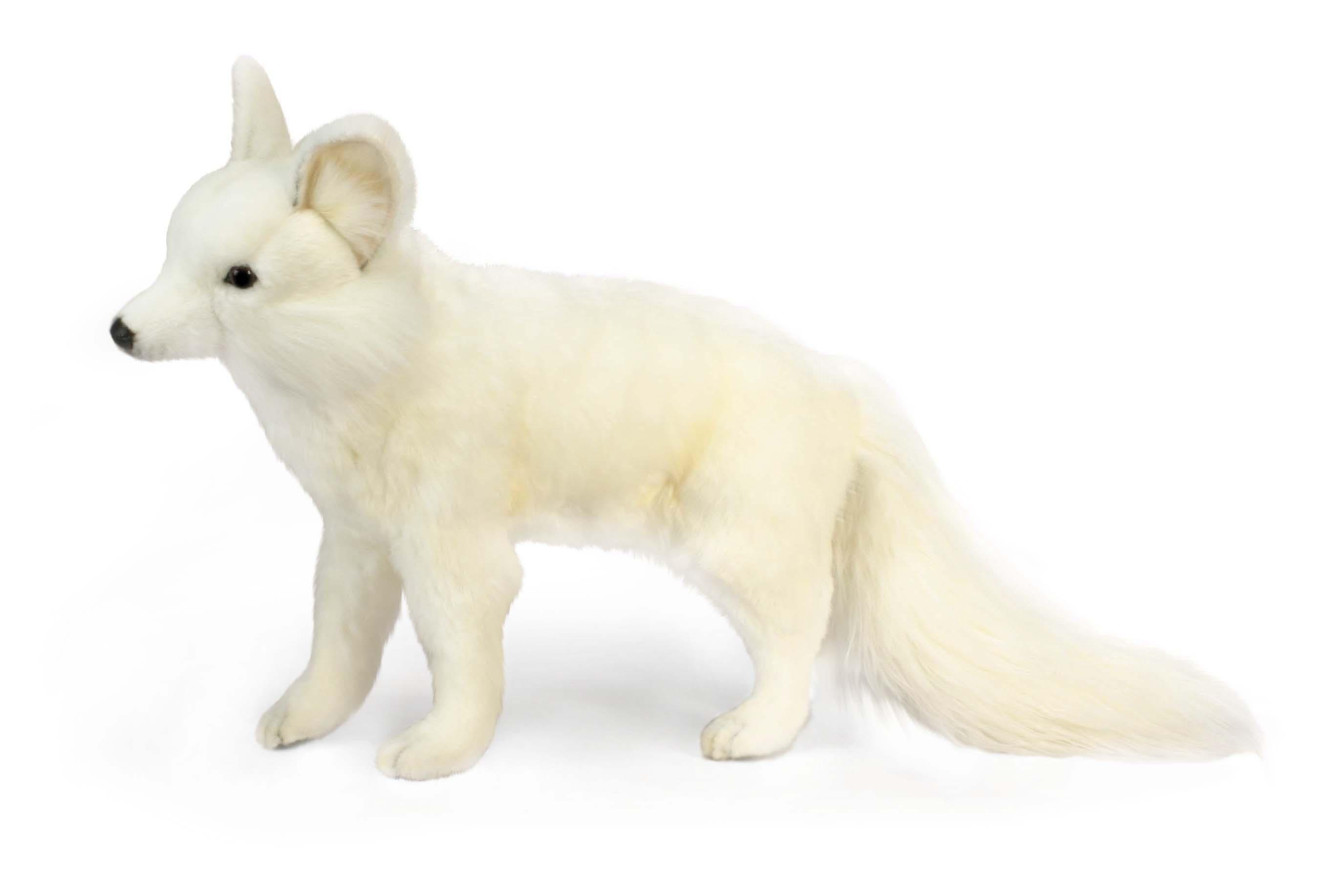 Лисица белая стоящая, 40 смДикие животные<br>Лисица белая стоящая, 40 см<br>