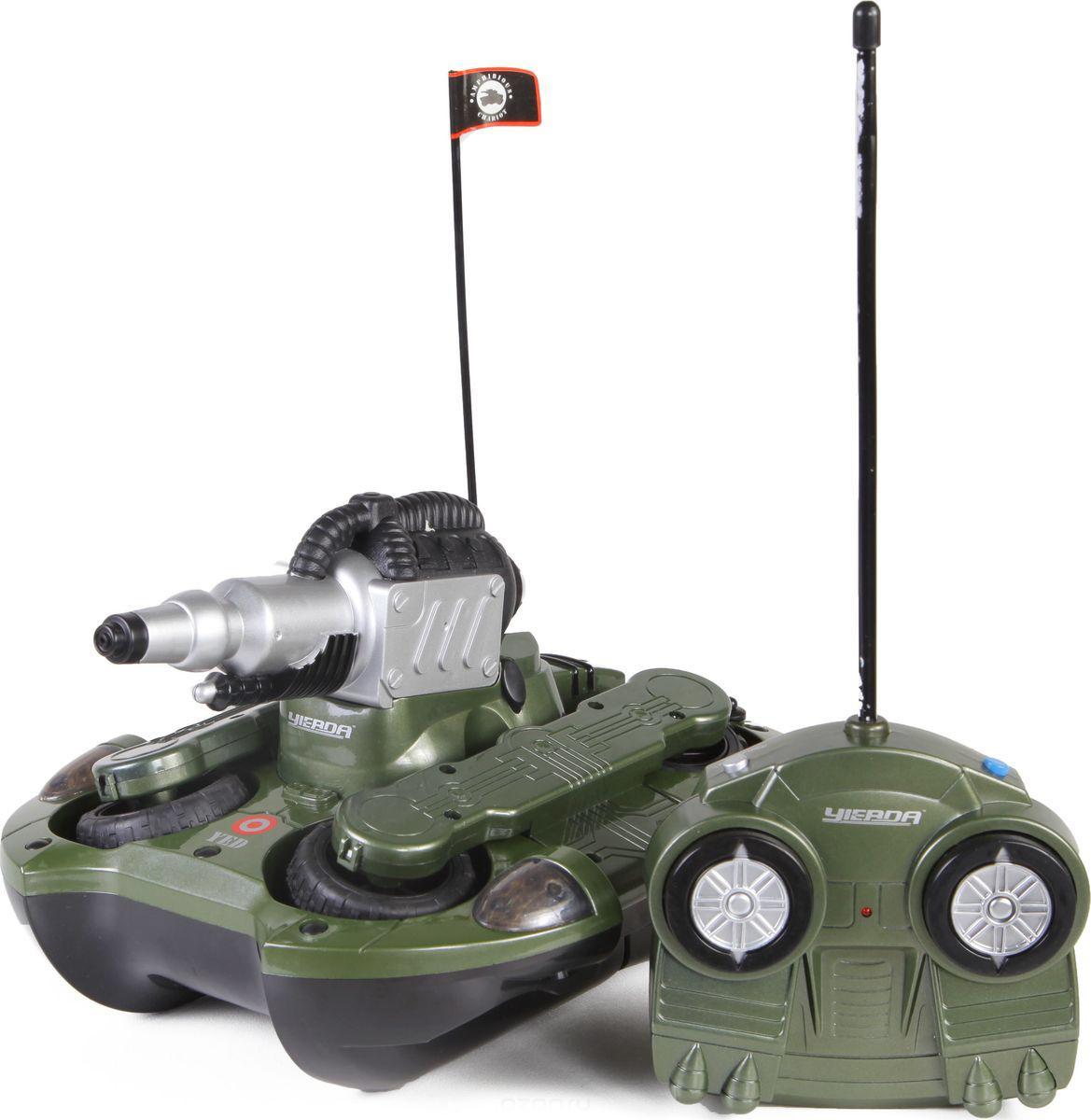 Танк на радиоуправлении со световыми эффектами - АмфибияРадиоуправляемые танки<br>Танк на радиоуправлении со световыми эффектами - Амфибия<br>