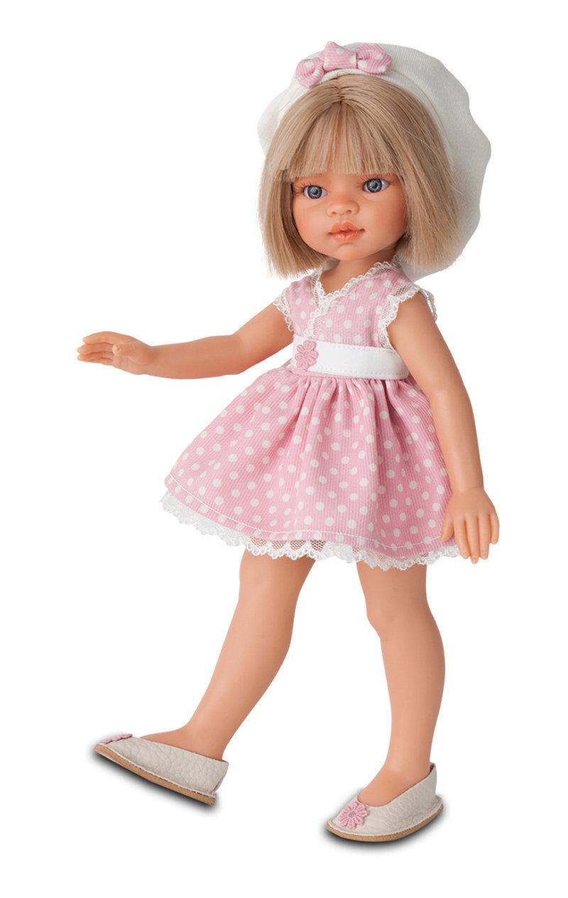 Кукла Эмили летний образ, блондинка, 33 см.Куклы Антонио Хуан (Antonio Juan Munecas)<br>Кукла Эмили летний образ, блондинка, 33 см.<br>