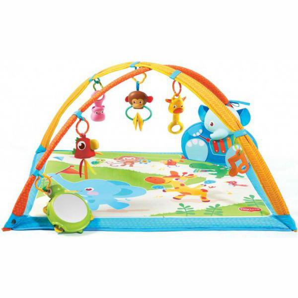 Детский коврик - Мои музыкальные друзьяДетские развивающие коврики для новорожденных<br>Детский коврик - Мои музыкальные друзья<br>