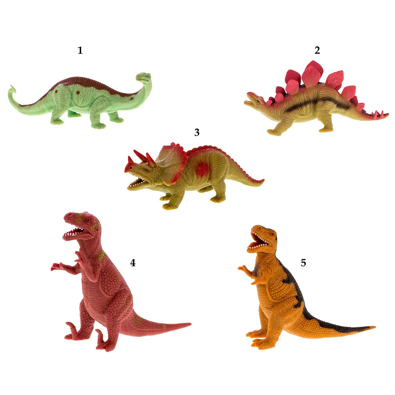 Динозавр резиновый с наполнением гранулами, среднийЖизнь динозавров (Prehistoric)<br>Динозавр резиновый с наполнением гранулами, средний<br>