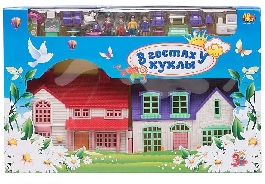 Кукольный домик «В гостях у куклы» - Кукольные домики, артикул: 22456