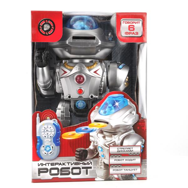 Робот на радиоуправлении, с голосовым управлением, свет и звук - Роботы, Воины, артикул: 128572