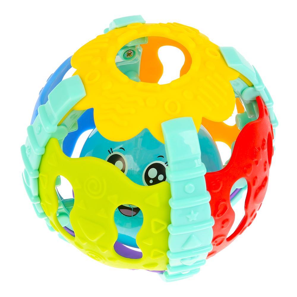 Купить Музыкальный мяч, 20 песен из мультфильмов, музыка Шаинского, свет, Умка