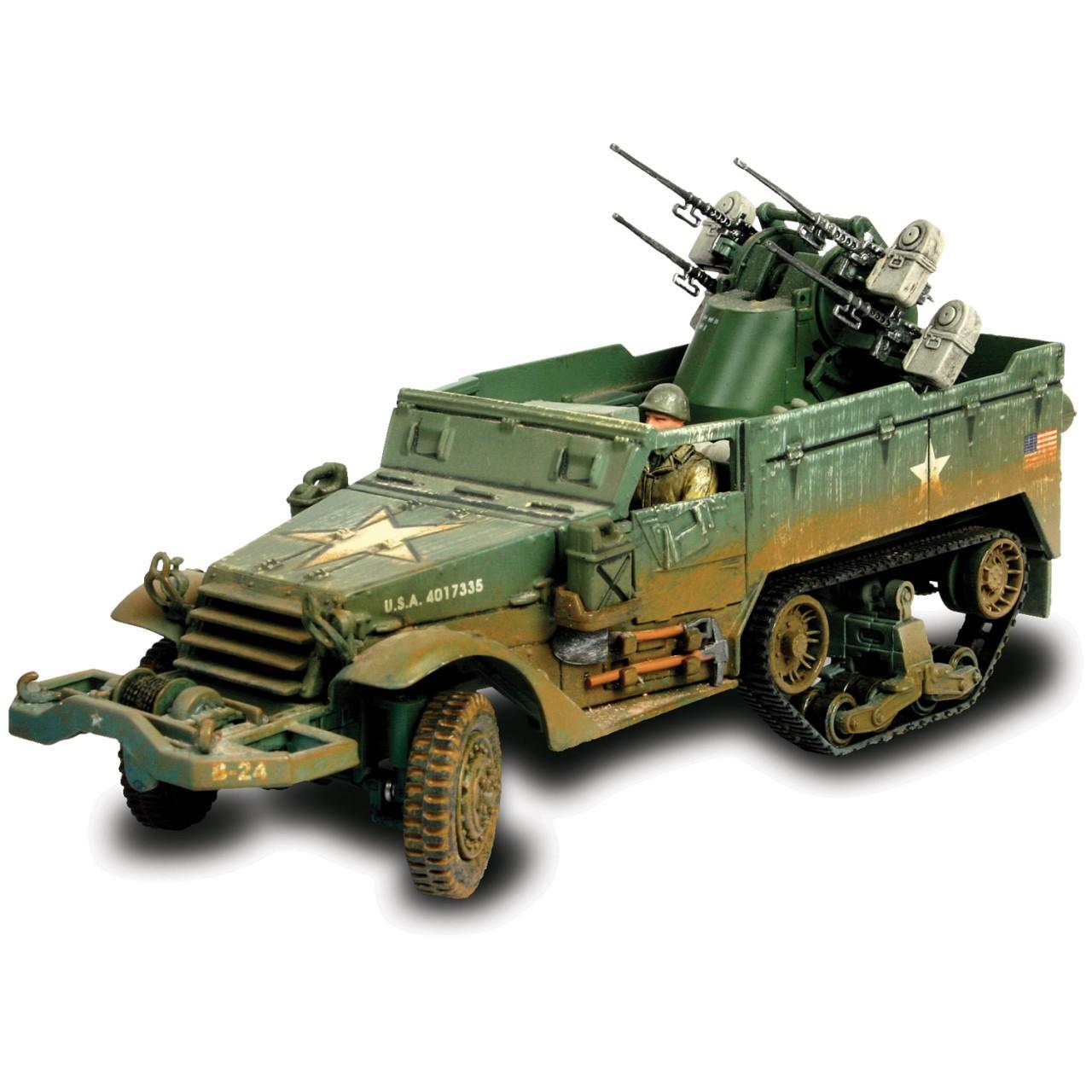 Коллекционная модель - танк M16 Multiple Gun Motor Carriage, США, 1:32Военная техника<br>Коллекционная модель - танк M16 Multiple Gun Motor Carriage, США, 1:32<br>