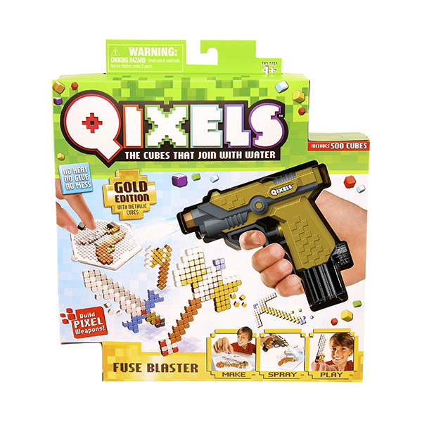 Набор для творчества Qixels - Водяной бластерДетский 3D принтер QIXELS<br>Набор для творчества Qixels - Водяной бластер<br>