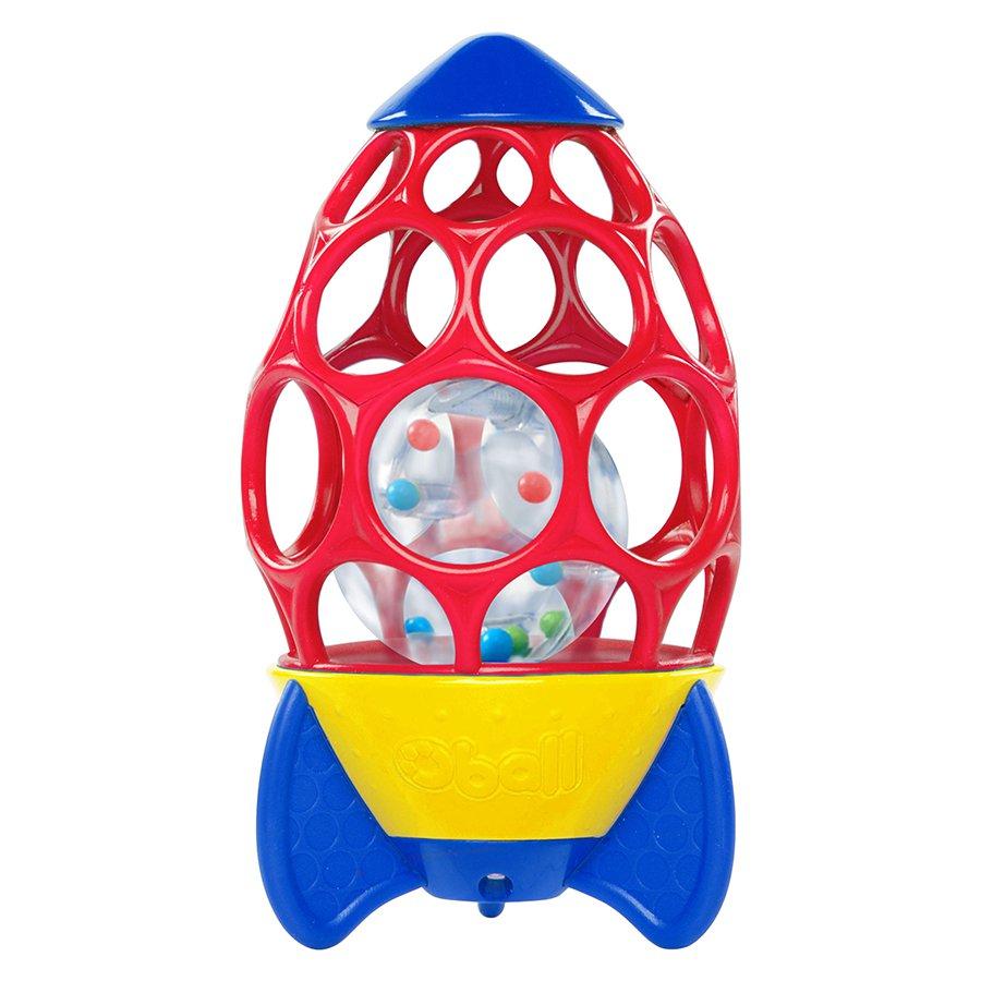 Погремушка - Ракета с шариками, Oball  - купить со скидкой