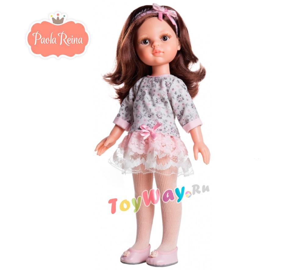 Кукла Кэрол, 32 см.Испанские куклы Paola Reina (Паола Рейна)<br>Кукла Кэрол, 32 см.<br>